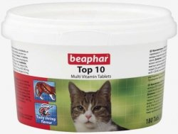 Beaphar 10395 Top 10 Katze 180tabl. - multiwita