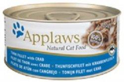Applaws 1026 Cat Tuńczyk z Krabem 70g puszka