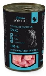 Fitmin Dog 400g for Life konserwa indyk