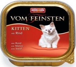 Animonda 83448 Vom Feinsten Kitten Wołowina 100g