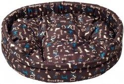 Derma 0996 legowisko z poduszką niebieski pies 4*