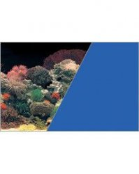 ZOLUX 354861 Tło akw. 30x40cm koralowiec/niebieski