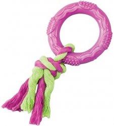 Ethical 54020-6 Zabawka Gumowe kółko ze sznurkiem