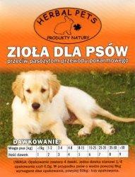 Herbal Pets 4265 Zioła p.pasożytom 2g - pies