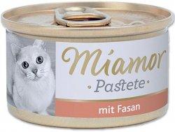 Miamor 74021 Fasan 85gr bażant pasztecik dla kota