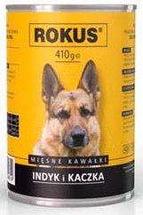 Rokus Dog 410g Indyk Kaczka