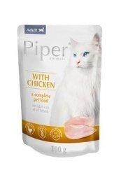 Piper 2100 z kurczakiem saszetka 100g kot