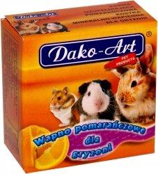 Dako-Art 628 Wapno pomarańcz dla gryznoni 1szt