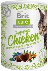 Brit Care Cat Snack Super Fruits Chicken 100g