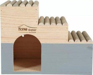 Zolux 209768 Domek Home Color z bali L 235x300x180