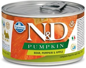 ND Dog 2291 Adult Mini 140g Pumpkin Boar&Apple
