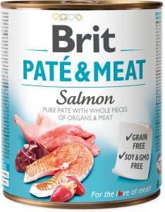 Brit Care Pate&Meat Salmon 800g