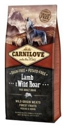 Carnilove Dog 8983 Adult Lamb & Wild Boar 1,5kg