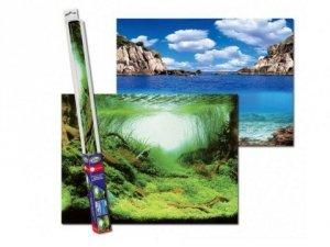 Aqua Nova 9508 Tło XL 150x60cm Rośliny/Ocean