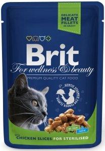 Brit 6033 Premium Cat 100g Chicken Sterilised sasz