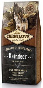 Carnilove Dog 8891 Adult Reindeer 1,5kg