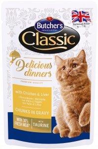 Butchers 1613 Saszetka 100g z kura wątro dla kota