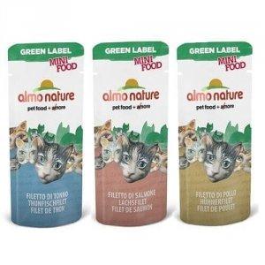 Almo 0502 Green Mini Food Tuńczyk 3g