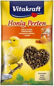 Vitakraft 1835 Honig Perlen 20g- witaminy kanarek
