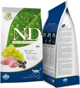 ND Cat NG 0208 Adult 1,5kg Lamb&Blueberry