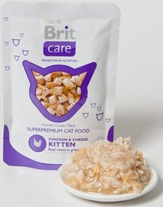 Brit 7054 Care Cat 80g Kitten saszetka*