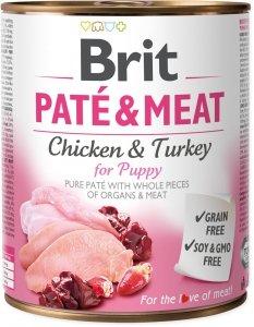 Brit Care Pate&Meat Puppy 800g