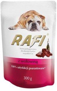 Rafi 1844 saszetka z wołowiną 300g dla psa