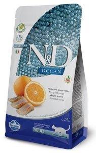 ND Cat Ocean 6773 Adult 300g Cod spelt oats orang