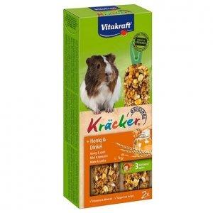 Vitakraft 1633 Kracker 2 szt dla świnki miód/orki