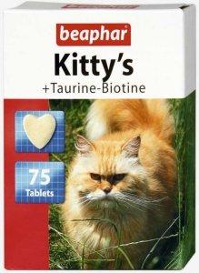 Beaphar 12779 Kitty's Tauryna/Biotyna 75szt