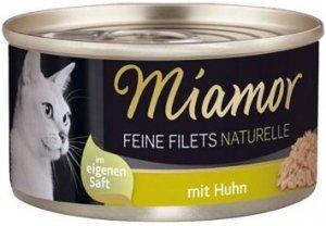 Miamor 75010 Feine Filets Naturelle Kurczak 80g