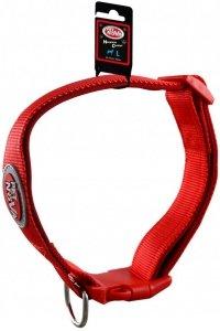Pet Nova 1826 Obroża nylon L 2cm 28-45cm czerwona