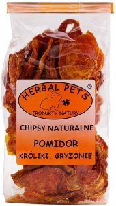 Herbal Pets 4326 Chipsy naturalne pomidor 40g