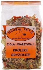 Herbal Pets 4081 Zioła warzywa II Królik gryz 50g
