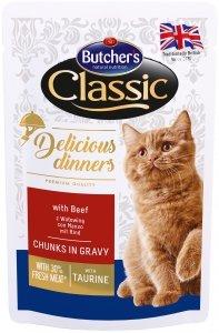 Butchers 1606 Saszetka 100g z wołowiną dla kota