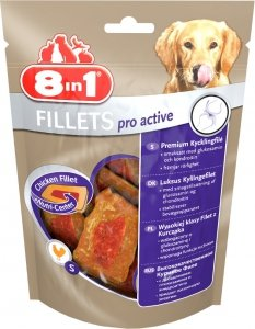 8in1 112389 Przysmak Fillets pro active S 80g