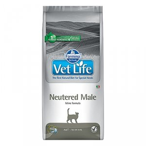 Vet Life Cat 2530 400g Neutered Male *