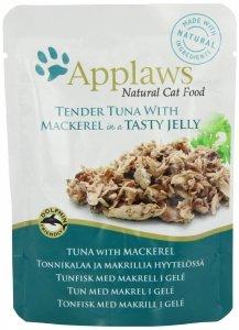 Applaws 8255 Cat Tuńczyk Makrela 70g sasz w gal