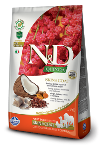 ND Dog NG 5592 Adult Quinoa 2,5kg Skin&Coat Herrin