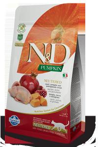 ND Cat NG 5424 Pumpkin Neutered 1,5kg Quail&Pomeg