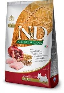 ND Dog LG 1984 Adult Mini 2,5kg Chicken&Pomegra