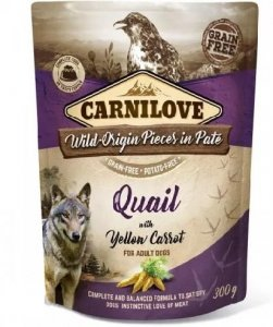Carnilove Dog 7679 pouch Venision& strawberry 300g