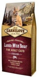 Carnilove Cat 2317 Sterilised Lamb&Wild Boar 2kg