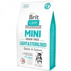 Brit Care Mini Grain Free Light Sterilised 2kg
