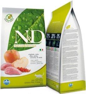 ND Cat NG 2720 Adult 5kg Boar&Apple