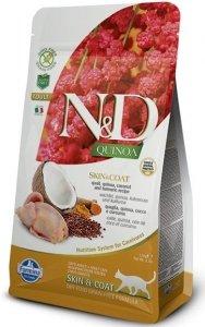 ND Cat NG 5837 Adult Quinoa 1,5kg Skin&Coat Quail