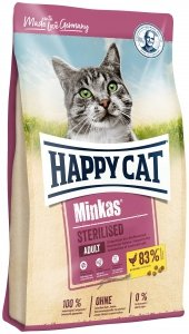 Happy Cat 4222 Minkas Sterilised Drób 10kg