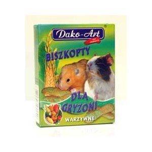Dako-Art 381 Biszkopty warzywny  50g dla gryzoni