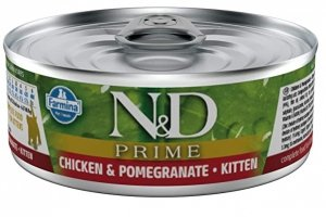 ND Cat 2901 Prime Kitten 80g Chicken& Pomagranate