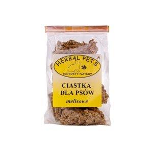 Herbal Pets 4685 Ciastka dla psów melisowe 140g